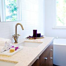 Modern Bathroom Faucets by Blu Bathworks