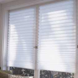 Redi Shades, Inc. - Redi Shade Window Shade - This unique paper shade gives you instant privacy. The peel-and-stick design allows it to be mounted without hardware.