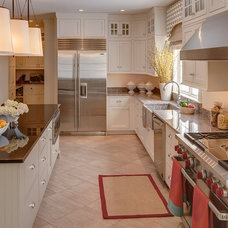 Traditional Kitchen by Catherine Weiland, Maine Green Building Supply