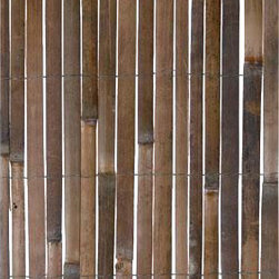 """Gardman USA - Split Bamboo Fencing 13'x5' - SPLIT BAMBOO FENCING 13'0"""" LONG x 5' HIGH.  Ideal cover for fencing and unsightly areas.  Simple to attach to fence uprights with ties or staples.  Pre-cut size for consumer convenience.  Great value!"""