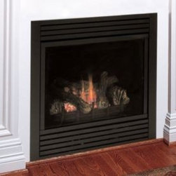 Majestic CDV Series 47'' x 39'' Direct Vent Gas Fireplace System - Fire control at your fingertips — This exclusive system gives you a full-featured command center for your fireplace. The optional remote offers even more flexibility.