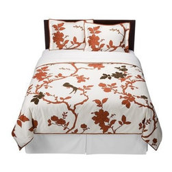 DwellStudio for Target Perch Duvet Set - This chinoiserie bedding from Dwellstudio is a great bargain and will add loads of style to your bedroom.