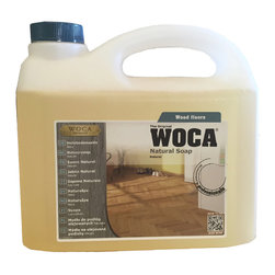 Woca Denmark - WOCA Natural Soap, Natural Soap 2.5 Liters - - Also Available in Natural and White (Container: 1 liter, and 2.5 liters)