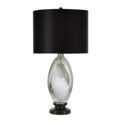 Trend Lighting - Trend Lighting TT5131 Ebony Lacquer Table Lamp Odin  Collection - Trend Lighting TT5131 Features: