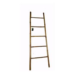 Bamboo Ladder Rack -