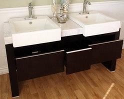 """57.75"""" Serres Double Sink Vanity -"""