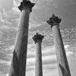 """National Capitol Columns, National Arboretum, Washington DC 12"""" X 16"""" Print - National Capitol Columns, National Arboretum, Washington DC"""