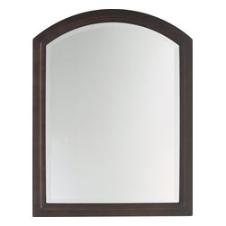 Murray Feiss - Murray Feiss Boulevard Mirror X-BRO2401RM - The cathedral window shape of this Murray Feiss mirror gives a stylish traditional appeal while the clean lines add a subtle casual feel. From the Boulevard Collection, it features a rich Oil Rubbed Bronze finish. A beveled trim around the edge of the mirror adds to the look.