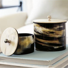 contemporary storage boxes by Ballard Designs