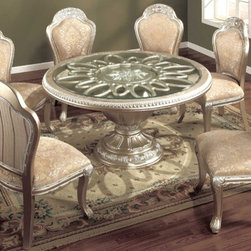 Yuan Tai Furniture - Jefferson 7 Piece Dining Set - JE2750T-7SET - Set includes Dining Table and 6 Side Chairs