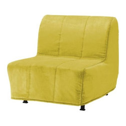 IKEA of Sweden - LYCKSELE MURBO Chair bed - Chair bed, Henån yellow