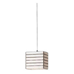 """Arturo Alvarez - Arturo Alvarez Cebra small pendant lamp - The Cebra small pendant lamp from Arturo Alvarez was designed by Arturo Alvarez and made in Spain. The Cebra small pendant lamp is simple with recognizable shapes. Different combinations of iridescence can be made thus creating variations on a collection that fits with both classical and contemporary environments.   Products description: The Cebra small pendant lamp from Arturo Alvarez was designed by Arturo Alvarez and made in Spain. The Cebra small pendant lamp is simple with recognizable shapes. Different combinations of iridescence can be made thus creating variations on a collection that fits with both classical and contemporary environments. Details:                         Manufacturer:                         Arturo Alvarez                                         Designer:                         Arturo Alvarez - 2004                                         Made  in:            Spain                            Dimensions:                         Height: 96"""" (243.8cm) X Width: 6"""" (15.2cm)                                                     Light bulb:                                      1 X 60W E26 or 1 X 13W Mini Spiral Fluorescent                                         Material                         Metal, glass"""
