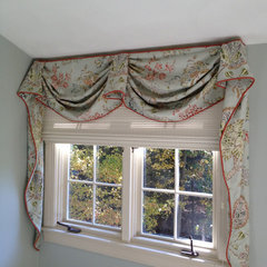 curtains by Cheryl McCracken Interiors,Inc