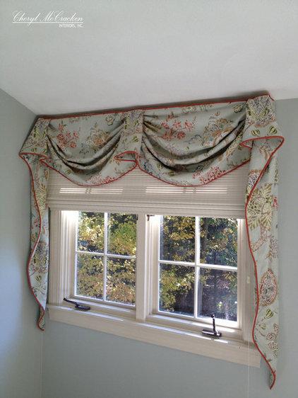 Curtains by Cheryl McCracken Interiors,Inc