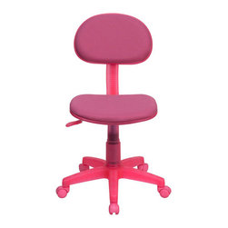 Flash Furniture - Flash Furniture Ergonomic Task Chair in Pink - Flash Furniture - Office Chairs - BT698PINKGG - The perfect chair for any room in your home. Whether for the kids or for your home office this chair will be a perfect addition. This chair will be a welcome and personal addition for any home office or home study area. [BT-698-PINK-GG]