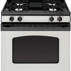 "GE - Free-Standing Gas Range, 30"" - Features:"