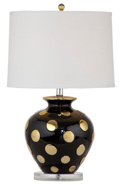lamp black gold ceramic 218 i never knew black and gold could be so. Black Bedroom Furniture Sets. Home Design Ideas