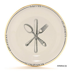 Artistica - Hand Made in Italy - Posata: Charger Platter - Posata Collection.