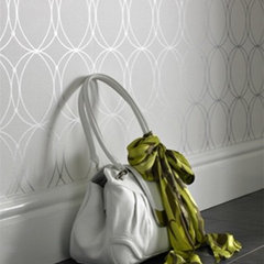contemporary wallpaper by Burke Decor