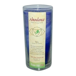 Aloha Bay Chakra Candle Jar Abundance - 11 Oz - Aloha Bay Chakra Candle Jar Abundance Description: