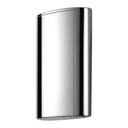 Gedy - Wall Mounted Steel 400 Ml Soap Dispenser - Modern, wall mounted 400 ml soap or lotion dispenser.