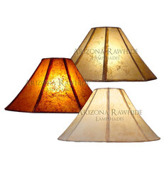 traditional lamp shades by Arizona Rawhide