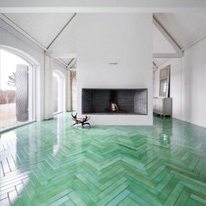Contemporary Floor Tiles by Made a Mano