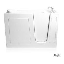 Ariel - 3060 Soaker Series Walk-in Bathtub - ADA compliant17-inch seat height and a 23-inch widthHigh gloss triple gel coat finish