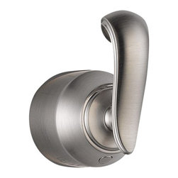 Delta Single French Curve Bath Diverter / Transfer Valve Handle Kit - H598SS - Classical design meets modern technology with a clean and simple silhouette.