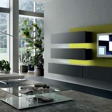 Modern Wall Shelves by Dayoris Custom Woodwork