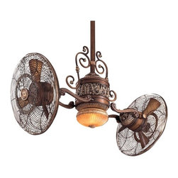 Minka Aire F502-BCW Ceiling Fan with Six Blades and Light Kit - Get up to 10%   coupon code: Houzz