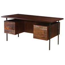 Rustic Desks And Hutches by Zin Home