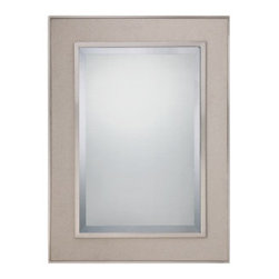 """Quoizel - Quoizel CKMO43929 Metro 39"""" Height Rectangular Mirror - Add a splash of elegance to your home with this fantastic 39"""" height rectangular mirror.Features:"""