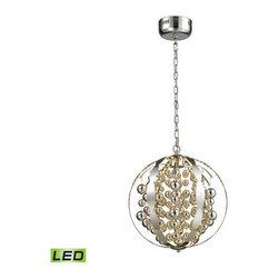 Elk Lighting - Elk Lighting 11727/LED Light LED Spheres Light LED Globe Pendant - Lamping Technologies: