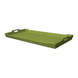 Trade Winds - New Trade Winds Buffet Tray Green Painted - Product Details