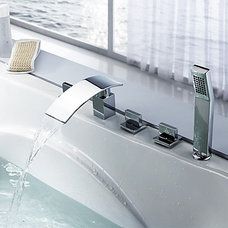 Modern Bathtub Faucets by Jollyhome