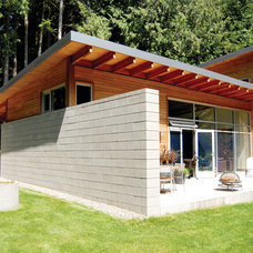 Architecturally designed Eco Home | sustainable building on Bainbridge Island, W