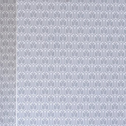 Gio Removable Wallpaper, Silver