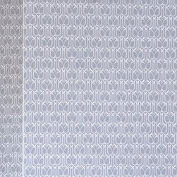 LOLLIPROPS, INC., LPI - Gio, Silver - The small, repeated design in this wallpaper is ideal for filling a room with pattern. You could easily add color and style to any room or wall and the peel-and-stick technology means you can just as easily remove it when you're ready for a fresh, new look. Embrace a bold design without the lifelong commitment to wallpaper.