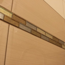 Modern Tile by THE MASONRY CENTER INC
