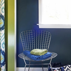 Bold and Trendy Small-Bathroom Makeover : Decorating : HGTV