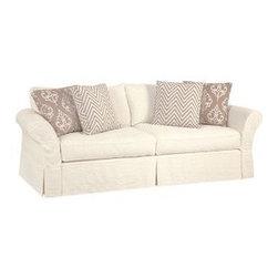 "Slipcovered Furniture - Mystic Slipcovered Sofa (83""w or 91""w x 37""d x 38""h)"