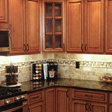 Traditional Kitchen Cabinets by All Wood Cabinets