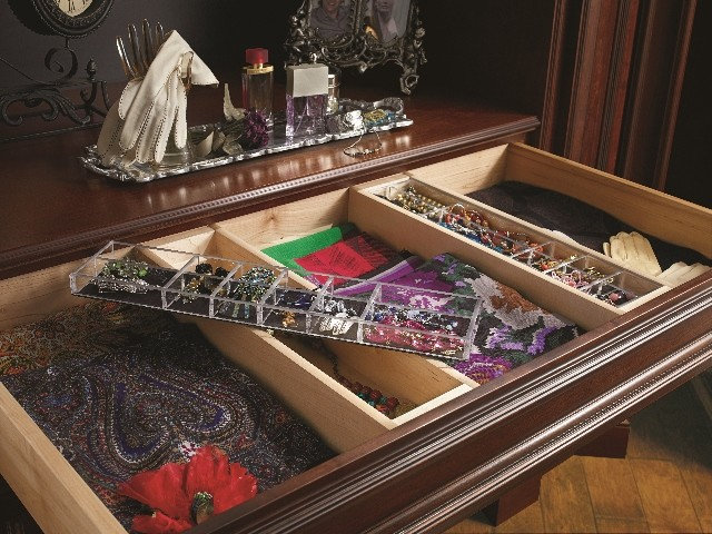 Traditional Closet by Kitchen & Bath Concepts