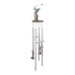 GSC - Wind Chime Round Top Golfer Golf Hanging Porch Garden Decoration Decor - This gorgeous Wind Chime Round Top Golfer Golf Hanging Porch Garden Decoration Decor has the finest details and highest quality you will find anywhere! Wind Chime Round Top Golfer Golf Hanging Porch Garden Decoration Decor is truly remarkable.