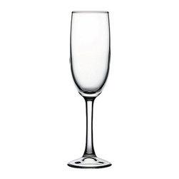 Hospitality Glass - 7.75H x 1.75T x 2.25B Imperial Plus 5.75 oz Champagne Flute 24 Ct - Imperial Plus 5.75 oz Champagne Flute