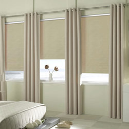 BlindSaver Basics Vinyl Blackout Roller Shades - Our fashionable Basic Roller Shade collection is a perfect fit in any room. Raise your shade to enjoy your view or lower it for privacy and light control.