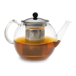 Bodum Glass Teapot - How about a calming, relaxing cup of tea after a day of feeding, cleaning and running around? Um, yeah! This teapot is no fuss, and that infuser will come in handy.