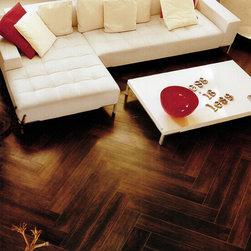 Porcelain Floor Tile -- Luminated Wood Series -