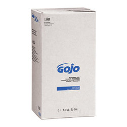 GO-JO INDUSTRIES - C-SHOWER-UP SOAP/SHAMPO   2/5000ML - Rugged, high-capacity PRO series dispensers offer unmatched performance. SANITARY SEALED™, bag-in-box refills are easy-to-load, store and handle. A fresh dispensing valve with each refill ensures no leaks or clogs. Portion control dispensing can significantly reduce total cost per wash.. . . . . . 2 Refills per Case. 5000-ml Refill. GOJO SHOWER UP® Soap & Shampoo. Dimensions: Height: 0.05, Length: 0.08333, Width: 0.075. Country of Origin: US
